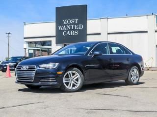 Used 2017 Audi A4 QUATTRO|SUNROOF|HEATED STEERING|BROWN LEATHER|PADDLE SHIFTER for sale in Kitchener, ON