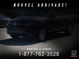 Used 2014 Volkswagen Touareg COMFORTLINE + V6 + AWD + NAVI + MAGS + W for sale in St-Basile-le-Grand, QC