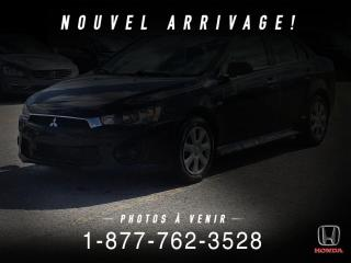 Used 2016 Mitsubishi Lancer DE + A/C + MANUEL + GR. ELEC . + WOW! for sale in St-Basile-le-Grand, QC
