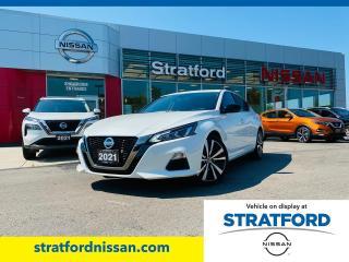 Used 2021 Nissan Altima SR for sale in Stratford, ON