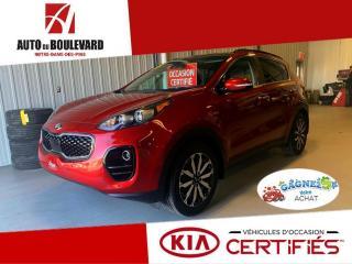 Used 2018 Kia Sportage EX AWD BAS KILO PREM TOIT PANO HAYON ELE for sale in Notre-Dame-des-Pins, QC