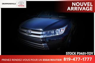 Used 2018 Toyota Highlander LIMITED| CUIR BRUN| PEA! for sale in Drummondville, QC