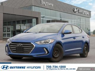 Used 2018 Hyundai Elantra GL for sale in Barrie, ON