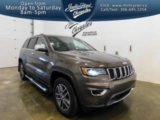 Used 2018 Jeep Grand Cherokee Limited 4x4   Sunroof   Leather for sale in Indian Head, SK