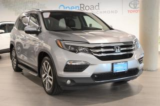 Used 2017 Honda Pilot V6 Touring 9AT AWD for sale in Richmond, BC