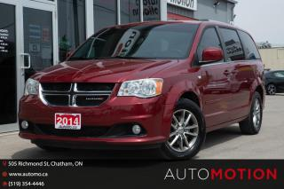 Used 2014 Dodge Grand Caravan SE/SXT LOADED DVD NAV BACK UP CAM LEATHER for sale in Chatham, ON