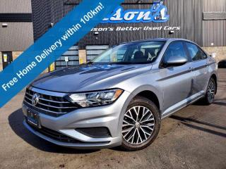 Used 2020 Volkswagen Jetta Highline, Leather, Sunroof, Blindspot Monitor, Heated Seats, Keyless Entry and more! for sale in Guelph, ON