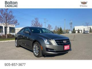 Used 2017 Cadillac ATS 2.0L Turbo Beauty with low km for sale in Bolton, ON