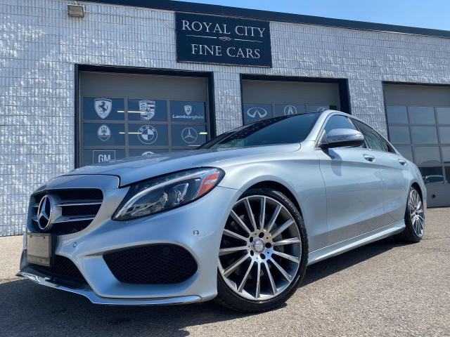 2015 Mercedes-Benz C-Class C 400 Twin Turbo/ Burmester Sound/ Blind Spot