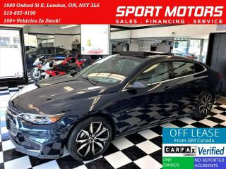 Used 2017 Chevrolet Malibu LT+Roof+Leather+RMT Start+New Tires+ACCIDENT FREE for sale in London, ON