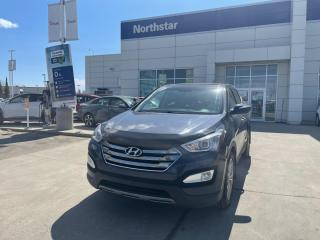 Used 2013 Hyundai Santa Fe LTD NAV/LEATHER/PANOROOF/HEATEDSEATS/BACKUPCAM for sale in Edmonton, AB