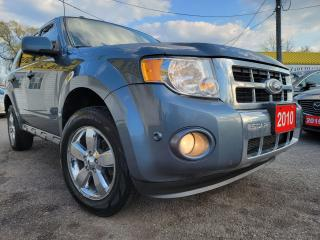 Used 2010 Ford Escape Limited/4WD/LEATHER/SUNROOF/LOADED/ALLOYS for sale in Scarborough, ON