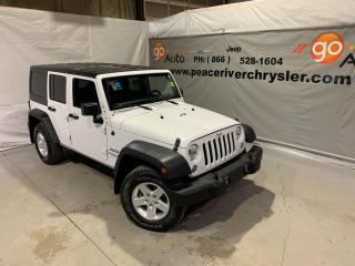 Used 2018 Jeep Wrangler JK Unlimited Sport for sale in Peace River, AB