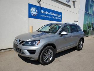 Used 2016 Volkswagen Touareg 3.0L TDI HIGHLINE W/ TECH PKG! VW CERTIFIED for sale in Edmonton, AB