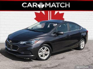 Used 2016 Chevrolet Cruze LT / AUTO / AC / SUNROOF for sale in Cambridge, ON