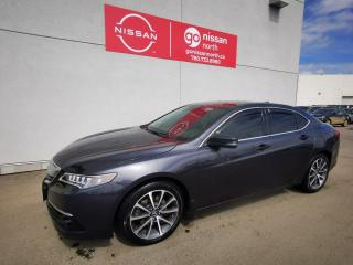 Used 2015 Acura TLX ELITE/AWD/V6/LEATHER/NAVIGATION for sale in Edmonton, AB