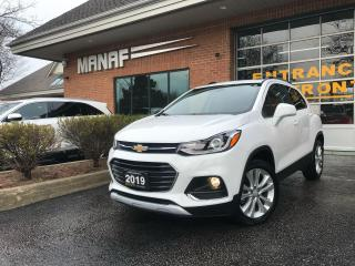 Used 2019 Chevrolet Trax Premier AWD Sunroof R.Starter R.Cam Heated Seats* for sale in Concord, ON