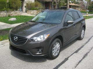 Used 2016 Mazda CX-5 NAVI, SUNROOF, NO ACCIDENTS, ONE OWNER, CERTIFIED for sale in Toronto, ON