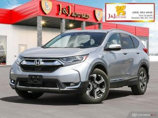 Used 2018 Honda CR-V Touring Backup camera, Navigation, Automatic tailgate, Sunroof, Keyless Entry for sale in Brandon, MB