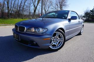 Used 2004 BMW 3 Series STUNNING 330CI CAB / SPORT PACKAGE / LOCAL CAR for sale in Etobicoke, ON