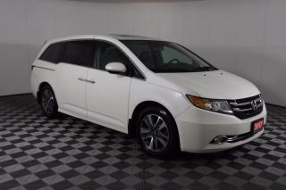 Used 2017 Honda Odyssey Touring 1 OWNER - NO ACCIDENT | NAVI | LEATHER | POWER DOORS for sale in Huntsville, ON