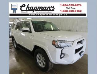 Used 2015 Toyota 4Runner SR5 V6 Summer & Winter Tires on Alloy Rims, Heated Seats, Remote Start for sale in Killarney, MB