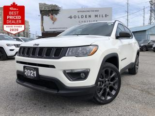 New 2021 Jeep Compass North 80th Edition leather seats, Pano Roof for sale in North York, ON
