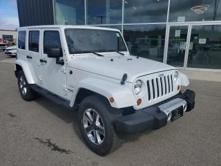 Used 2012 Jeep Wrangler Unlimited Sahara Remote Start, NAV, Heated Seats, Bluetooth!! for sale in Ingersoll, ON