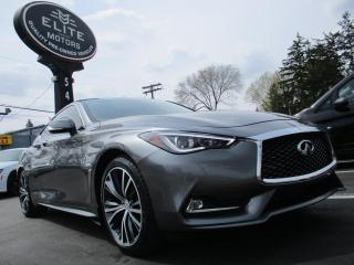 Used 2017 Infiniti Q60 2dr Cpe 2.0t for sale in Burlington, ON