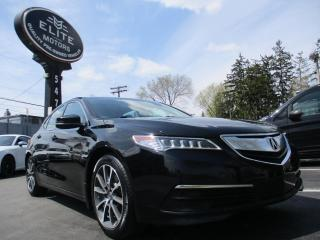 Used 2015 Acura TLX 4dr Sdn SH-AWD V6 Tech for sale in Burlington, ON