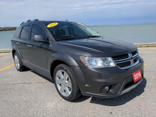 Used 2014 Dodge Journey R/T AWD Heated Leather Sun Roof Bluetooth Backup Cam Low K's for sale in Belle River, ON