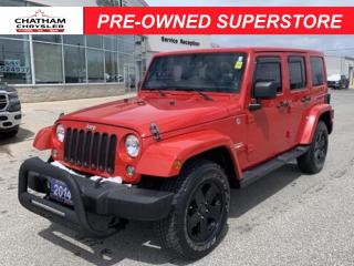 Used 2014 Jeep Wrangler Unlimited Sahara REMAINING EXTENDED WARRANTY|NAV for sale in Chatham, ON