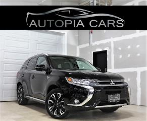 Used 2018 Mitsubishi Outlander Phev GT HYBRID BLIND SPOT PADDLE SHIFTER REAR VIEW CAM for sale in North York, ON
