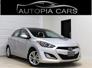 Used 2014 Hyundai Elantra GT HB GLS MANUAL PANORAMIC SUNROOF ACCIDENT FREE for sale in North York, ON