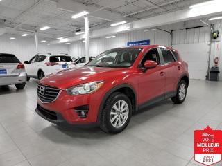 Used 2016 Mazda CX-5 GS - TOIT + CAMERA + FINANCEMENT FACILE !!! for sale in Saint-Eustache, QC