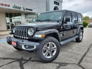 Used 2020 Jeep Wrangler Unlimited Sahara for sale in Sarnia, ON