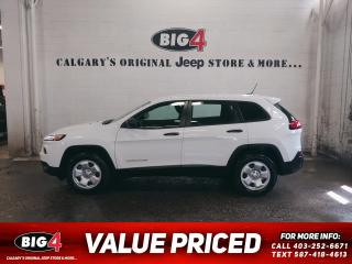 Used 2016 Jeep Cherokee Sport for sale in Calgary, AB