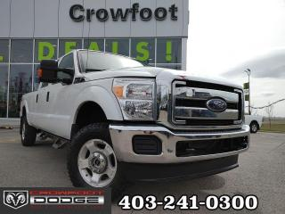 Used 2016 Ford F-350 XLT FX4 SUPERCREW 4X4 for sale in Calgary, AB