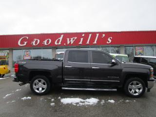 Used 2015 Chevrolet Silverado 1500 LTZ PLUS! CLEAN CARFAX! HEATED/COOLED LEATHER! for sale in Aylmer, ON