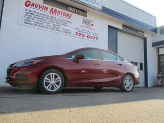 Used 2017 Chevrolet Cruze LT Auto Heated Buckets P.Drivers Seat Remote Start for sale in Swift Current, SK
