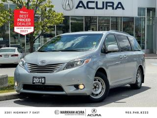 Used 2015 Toyota Sienna XLE LIMITED AWD for sale in Markham, ON