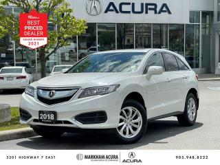 Used 2018 Acura RDX V6 AWD for sale in Markham, ON