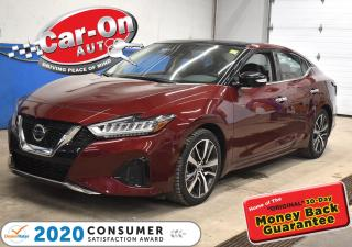 Used 2020 Nissan Maxima BOSE AUDIO | TWIN PANEL PANORAMIC ROOF | FRONT & R for sale in Ottawa, ON