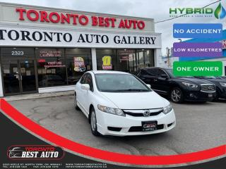 Used 2009 Honda Civic Hybrid |NO ACCIDENT|LOW KILOMETRES|ONE OWNER| for sale in Toronto, ON