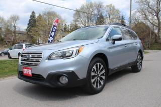 Used 2015 Subaru Outback Limited AWD, Leather, Sunroof, Navigation, Rear Cam for sale in King City, ON