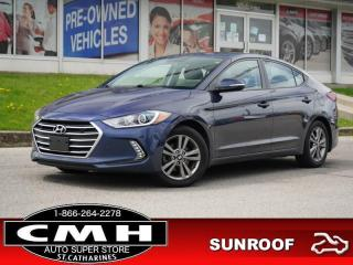 Used 2018 Hyundai Elantra GL SE  CAM ROOF HTD-SEATS HTD-S/W 16-AL for sale in St. Catharines, ON