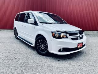 Used 2017 Dodge Grand Caravan GT, Leather, Navi, DVD, B-cam, Pwr Doors! for sale in Scarborough, ON