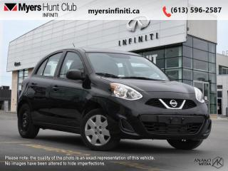 Used 2017 Nissan Micra S  - CD Player -  Aux Jack -  Cloth Seats for sale in Ottawa, ON