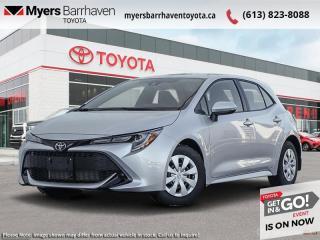 New 2021 Toyota Corolla Hatchback S  - $163 B/W for sale in Ottawa, ON