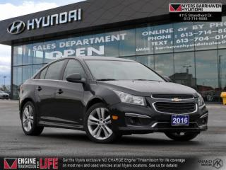 Used 2016 Chevrolet Cruze Limited LT  -  Bluetooth - $106 B/W for sale in Nepean, ON